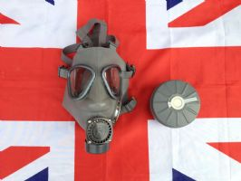 EX MILITARY ARMY FINNISH GAS MASK
